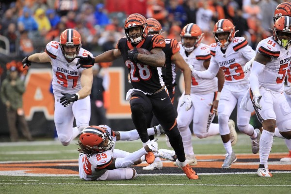 Cincinnati Bengals at Cleveland Browns Betting Preview