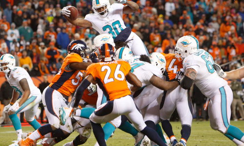 Can the Denver Broncos upset the NFL's hottest team, the Miami Dolphins?