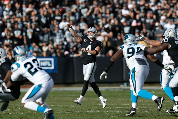 Raiders @ Panthers betting preview
