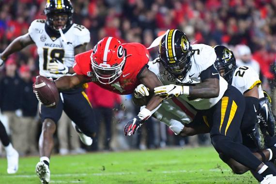 Georgia Bulldogs vs. Missouri Tigers Betting Preview