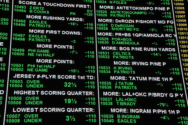 New Jersey Approves Sports Gambling Bill (duh)