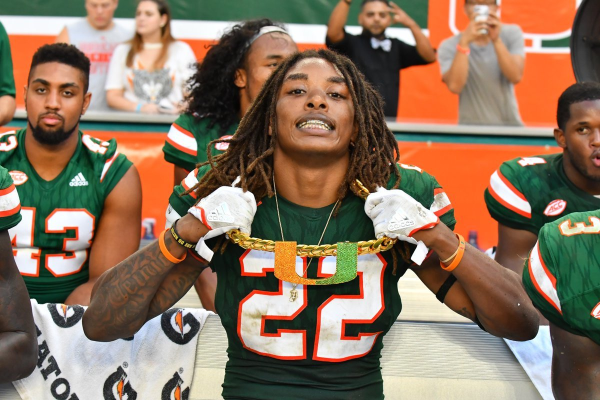 Week 5 NCAA Football: North Carolina Tar Heels at Miami Hurricanes