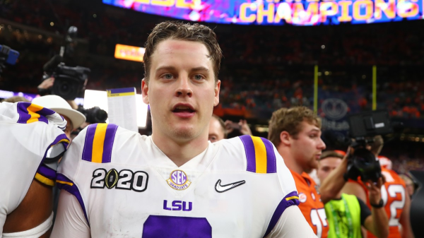 Burrow Elects Not To Throw At NFL Combine