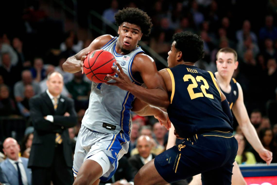 NCAA Basketball Showdown; Duke Blue Devils at Michigan State Spartans Betting Pick