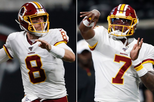 Washington Redskins Betting Preview for 2019/20 Season