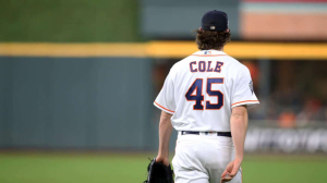 Cole Halfway Out The Door To Next Destination Following World Series