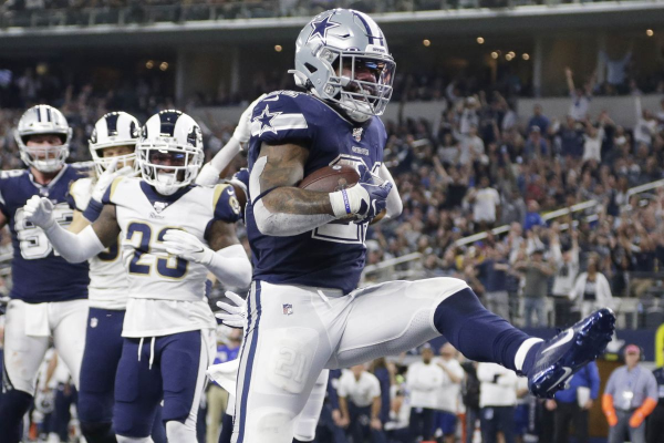 Cowboys Throttle Rams, Set Up Showdown With Eagles