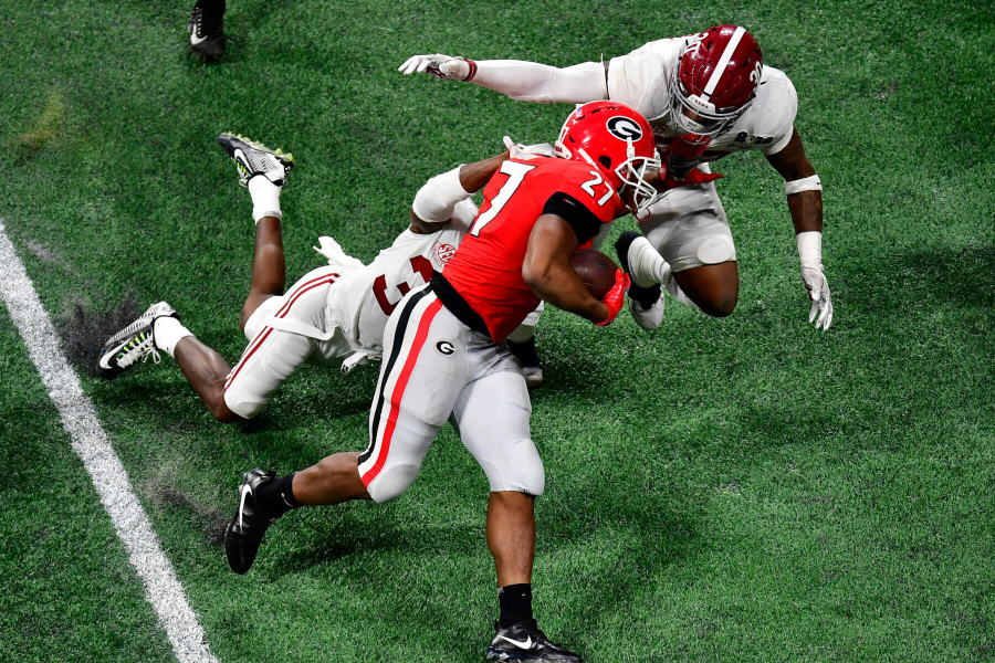 Georgia Bulldogs vs. Alabama Crimson Tide