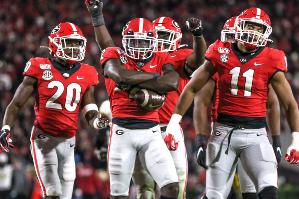Georgia Hurdles Over Alabama In College Football Playoff Rankings