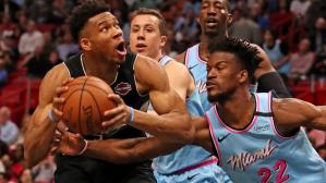 Adebayo, Heat Dominate Giannis' Bucks; Should Odds Be Closer In East?