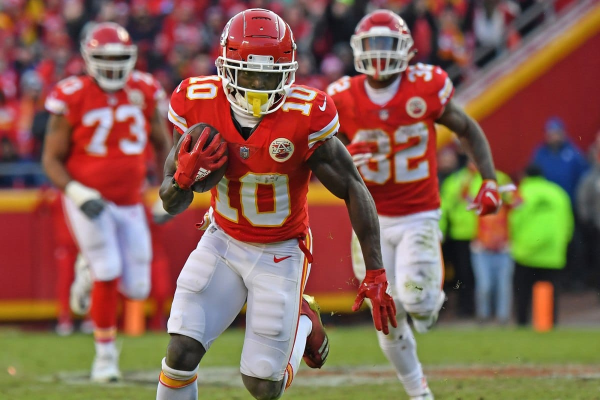 No Suspension for Tyreek Hill; Should You Consider Chiefs on a Future Bet?