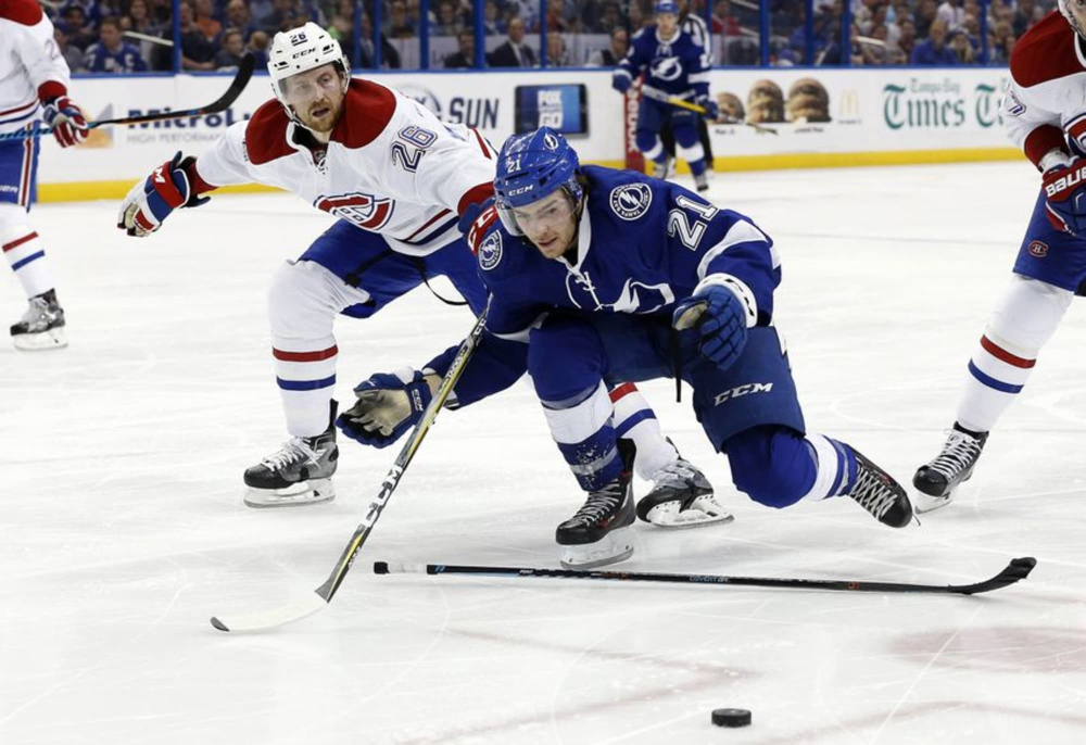 Brayden Point Injured in Game 2 of the Eastern Conference Finals