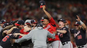 Nationals Win 2019 World Series; How Oddsmakers Line Up Odds To Win 2020 World Series