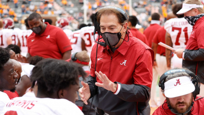 Alabama Head Coach Out for Iron Bowl