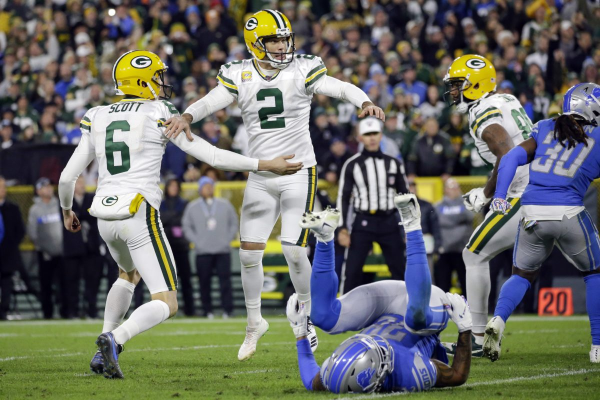Packers Claim NFC North Lead With Late Help From Officials