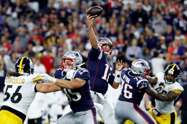 Patriots Still Machines; Trouble with Pittsburgh In Early Going?