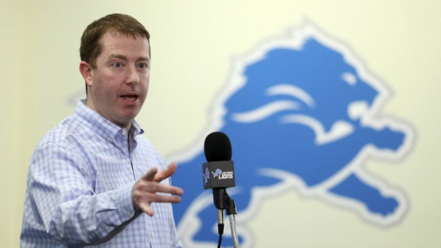 Lions GM Quinn Open to Possibilities for Thursday's NFL Draft