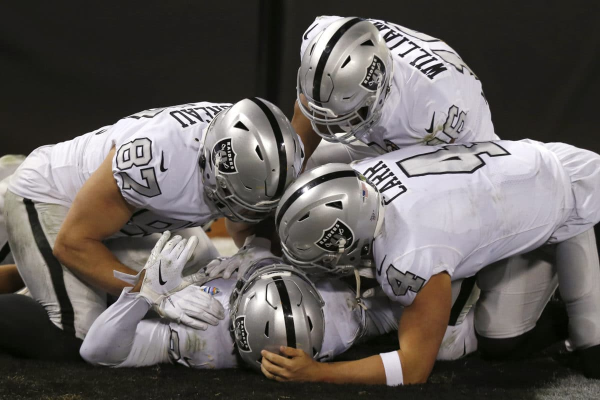 Gruden, Raiders Come Up Golden Thursday Night