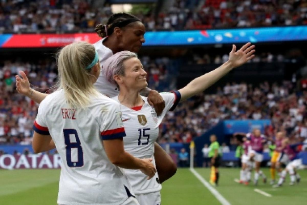 Rapinoe Dominates as USA Wins; Favorites in Semifinals?