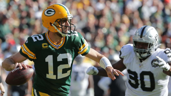 Packers Wallop Raiders; Is Rodgers Leading The NFC Team To Beat?