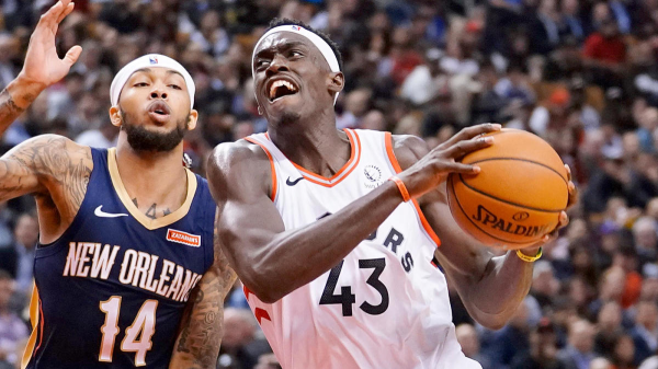 Siakam Shines; Champs Win in Overtime