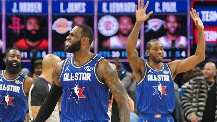 Team LeBron Edges Team Giannis To Cap Off All-Star Weekend