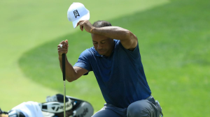 Woods Barely Slips Past Cutline At The Memorial