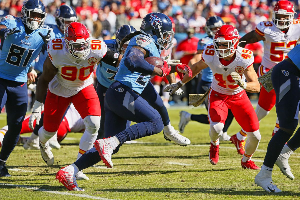 Titans Stun Chiefs; AFC South Up For Grabs