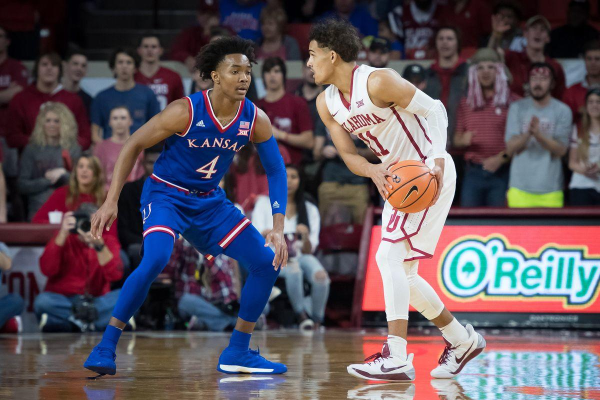 College Basketball Betting Pick and Prediction: Oklahoma Sooners at Kansas Jayhawks