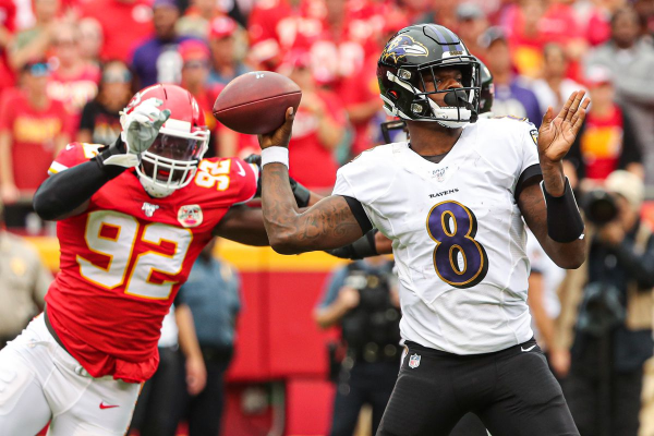 Kansas City Chiefs at Baltimore Ravens Betting Preview