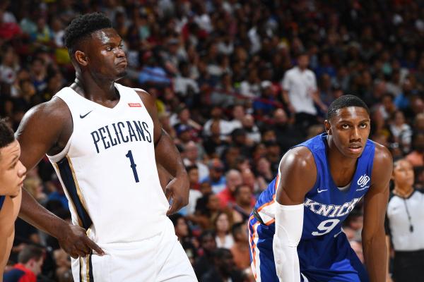 Zion vs. RJ Takes Over the NBA Summer League